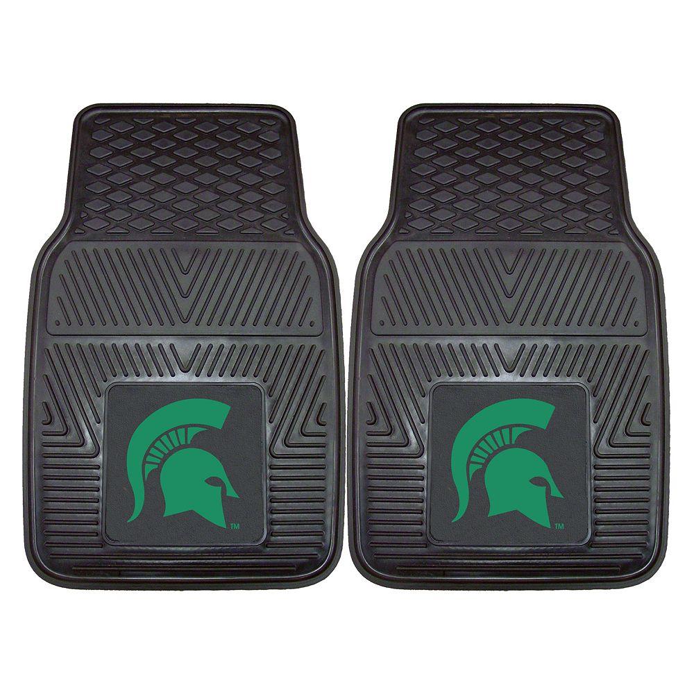 FANMATS 2-pk. Michigan State Spartans Car Floor Mats