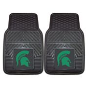 FANMATS 2-pk. Michigan State Spartans Car Floor Mats