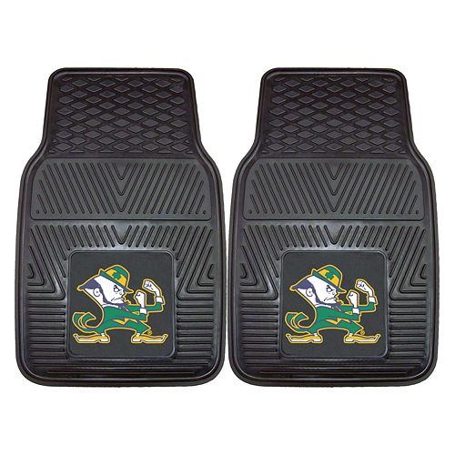 FANMATS 2-pk. Notre Dame Fighting Irish Car Floor Mats