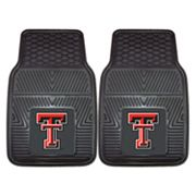 FANMATS 2-pk. Texas Tech Red Raiders Car Floor Mats