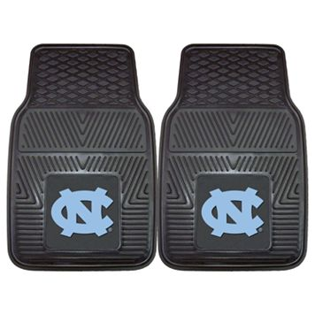 FANMATS 2-pk. North Carolina Tar Heels Car Floor Mats