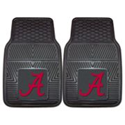 FANMATS 2-pk. Alabama Crimson Tide Car Floor Mats