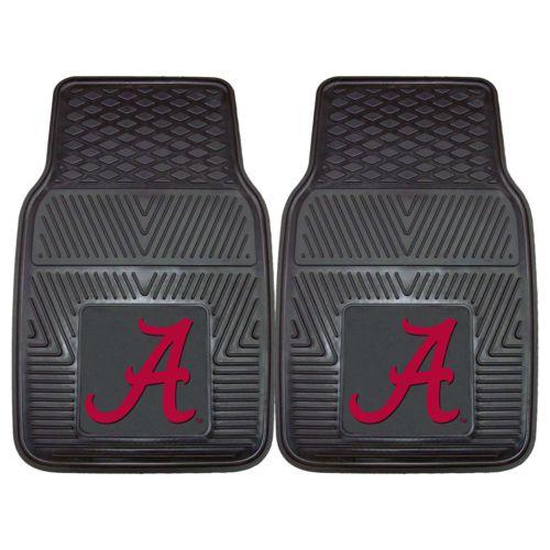 FANMATS 2-pk. Alabama Crimson Tide Car Floor Mats