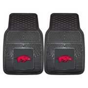FANMATS 2-pk. Arkansas Razorbacks Car Floor Mats