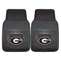FANMATS 2-pk. Georgia Bulldogs Car Floor Mats