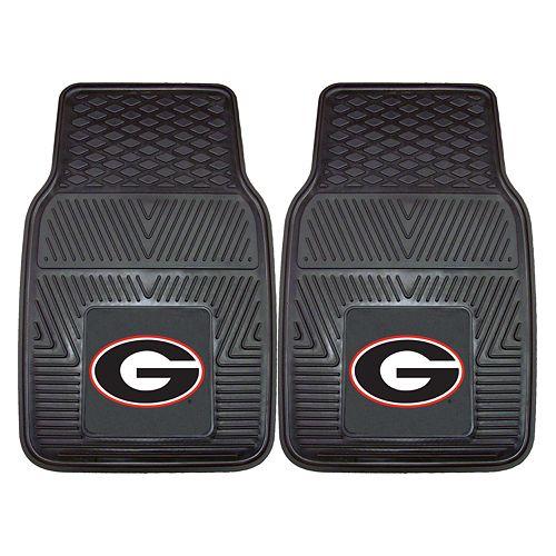 FANMATS 2-pk. Georgia Bulldogs Car Floor Mats