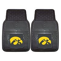 FANMATS 2-pk. Iowa Hawkeyes Car Floor Mats