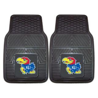 FANMATS 2-pk. Kansas Jayhawks Car Floor Mats