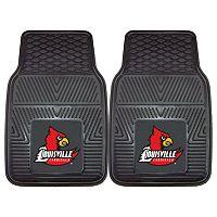 FANMATS 2 pkLouisville Cardinals Car Floor Mats
