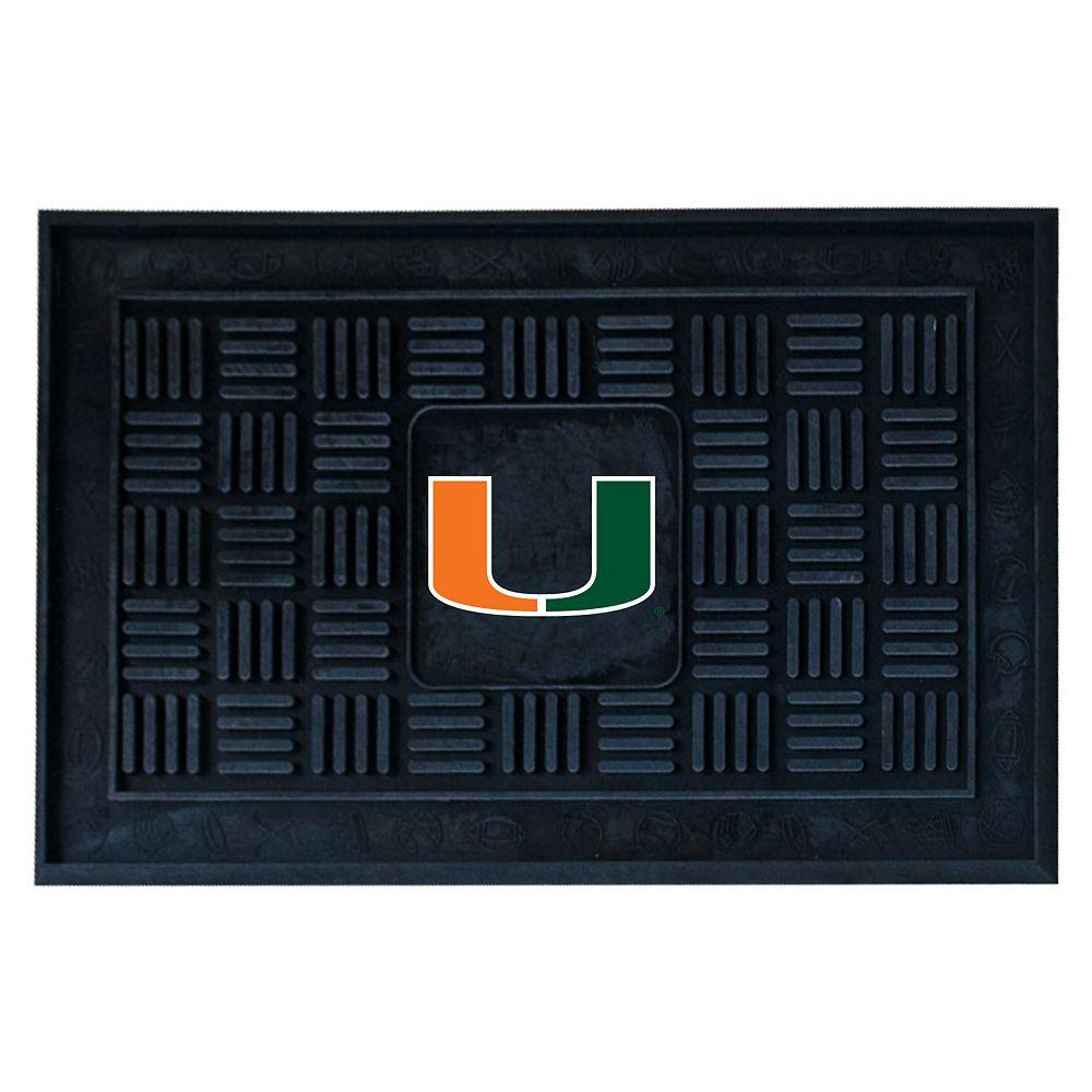 FANMATS Miami Hurricanes Doormat