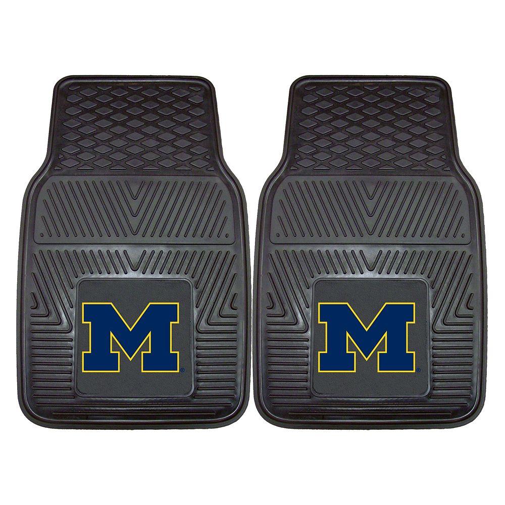 FANMATS 2-pk. Michigan Wolverines Car Floor Mats