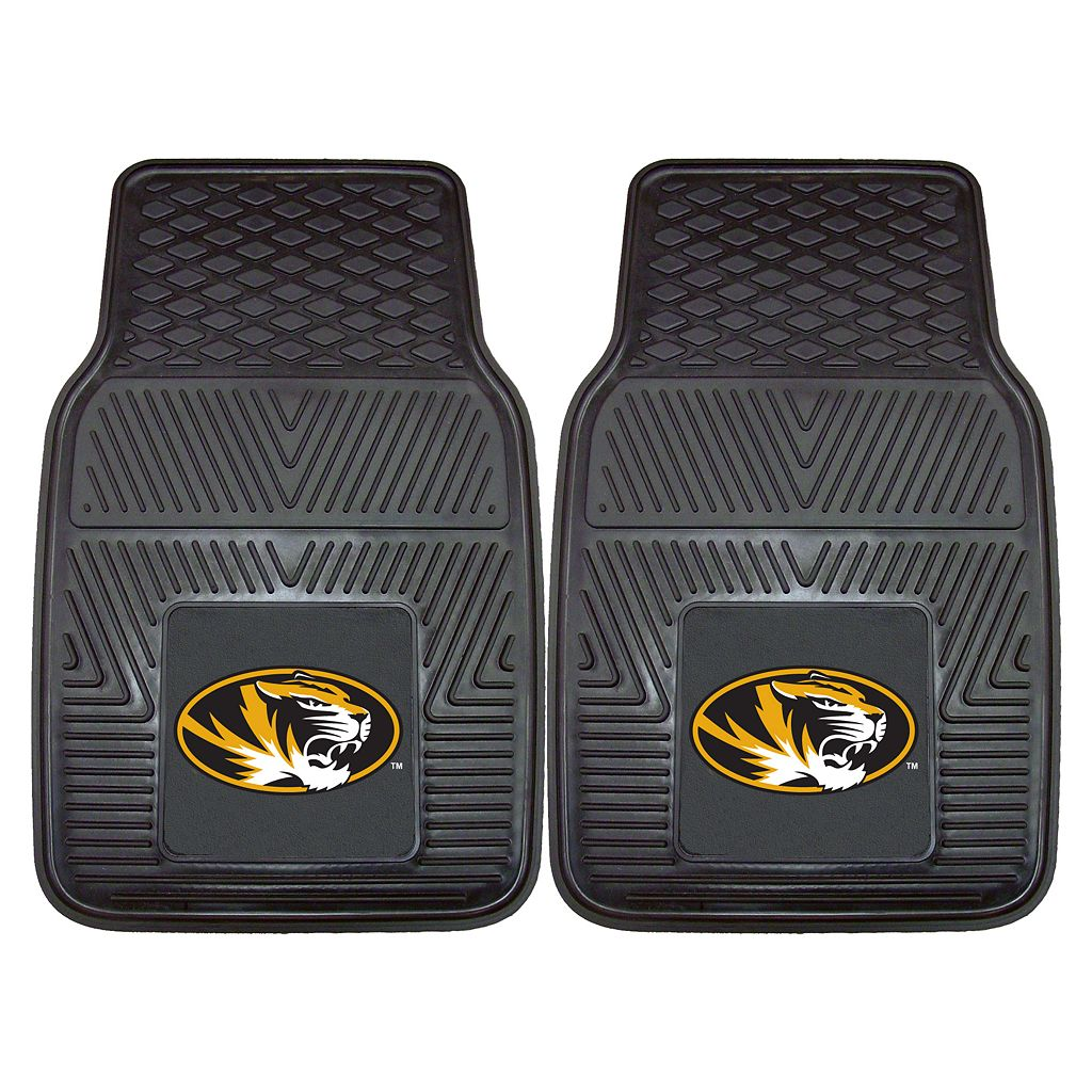 FANMATS 2-pk. Missouri Tigers Car Floor Mats