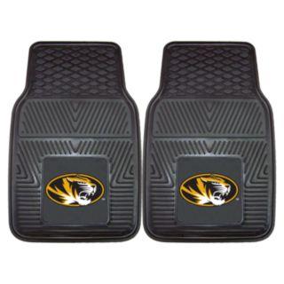 FANMATS 2-pk. Missouri Tigers Car Floor Mats