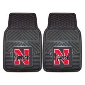FANMATS 2-pk. Nebraska Cornhuskers Car Floor Mats