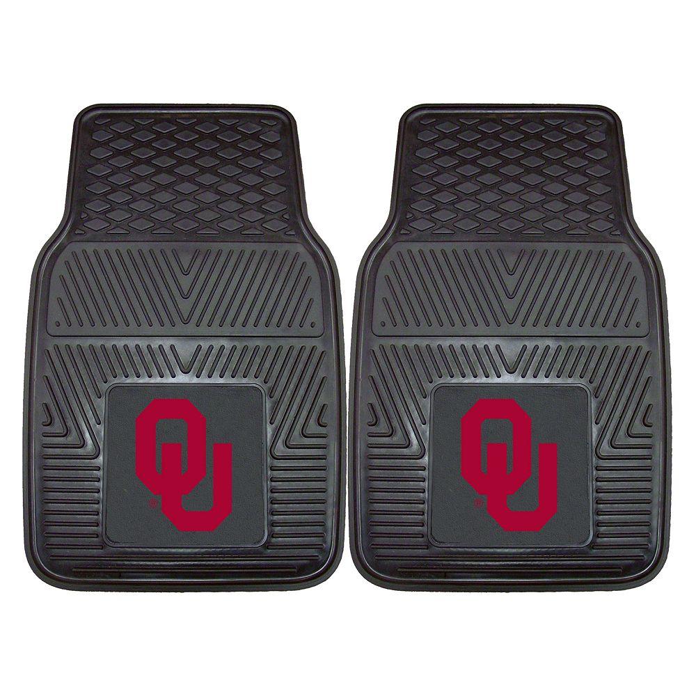 FANMATS 2-pk. Oklahoma Sooners Car Floor Mats
