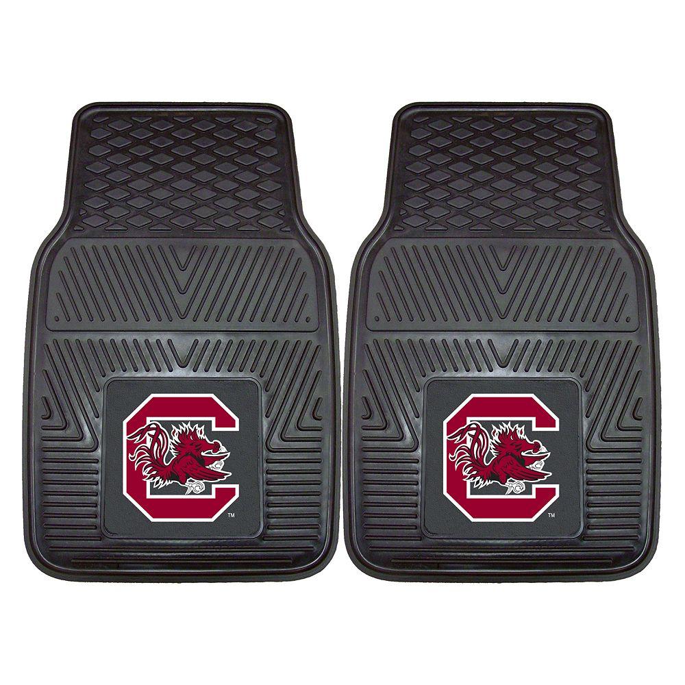 FANMATS 2-pk. South Carolina Gamecocks Car Floor Mats
