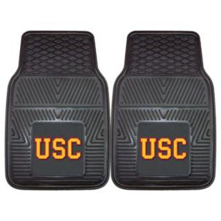 FANMATS 2-pk. USC Trojans Car Floor Mats