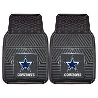 FANMATS 2 pkDallas Cowboys Car Floor Mats