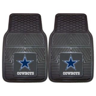 FANMATS 2-pk. Dallas Cowboys Car Floor Mats