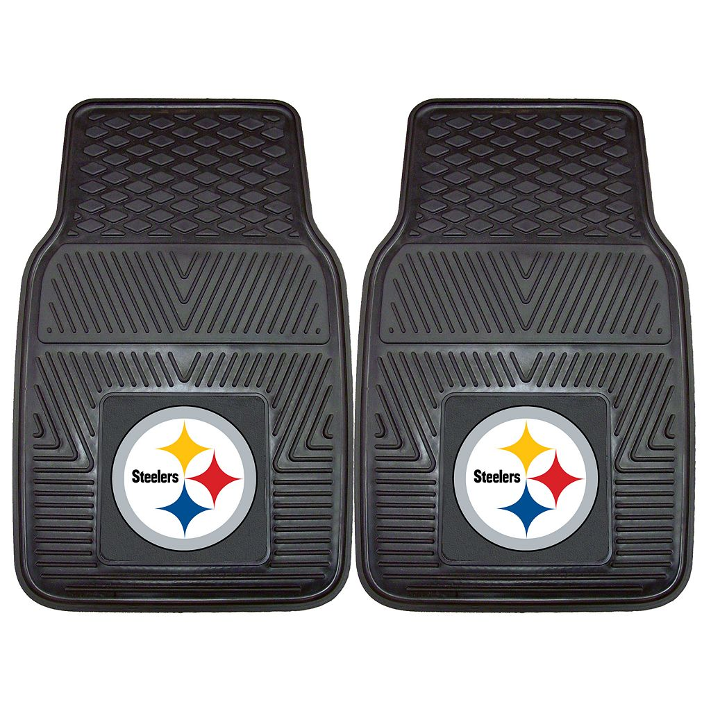 FANMATS 2-pk. Pittsburgh Steelers Car Floor Mats