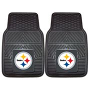 FANMATS 2 pkPittsburgh Steelers Car Floor Mats