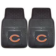 FANMATS 2 pkChicago Bears Car Floor Mats