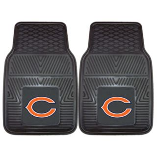 FANMATS 2-pk. Chicago Bears Car Floor Mats