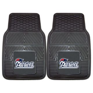 FANMATS 2-pk. New England Patriots Car Floor Mats