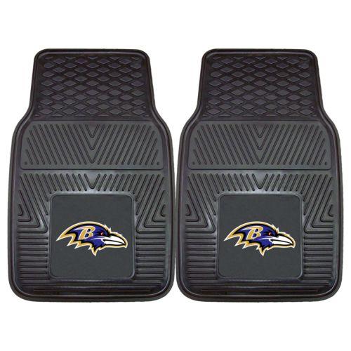 FANMATS 2-pk. Baltimore Ravens Car Floor Mats