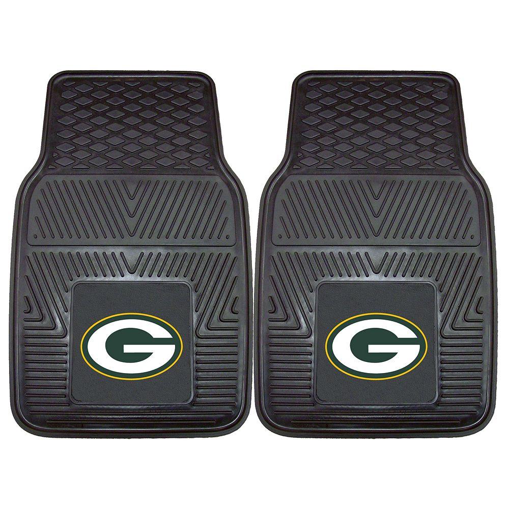 FANMATS 2-pk. Green Bay Packers Car Floor Mats