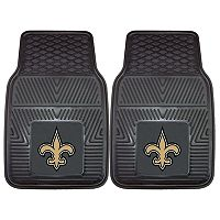 FANMATS 2-pk. New Orleans Saints Car Floor Mats