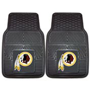 FANMATS 2-pk. Washington Redskins Car Floor Mats