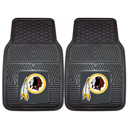 FANMATS 2-pk. Washington Redskins Car Floor Mats