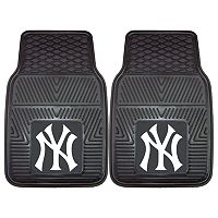 FANMATS 2-pk. New York Yankees Car Floor Mats