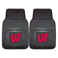 FANMATS 2 pkWisconsin Badgers Car Floor Mats