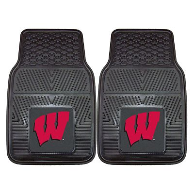 FANMATS 2-pk. Wisconsin Badgers Car Floor Mats