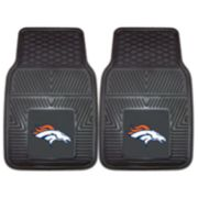 FANMATS 2-pk. Denver Broncos Car Floor Mats