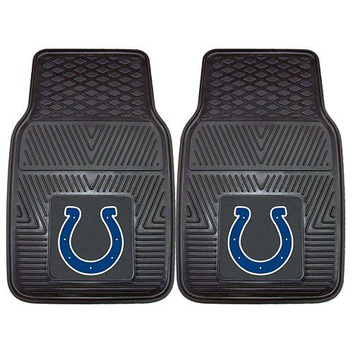 FANMATS 2-pk. Indianapolis Colts Car Floor Mats