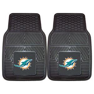 FANMATS 2-pk. Miami Dolphins Car Floor Mats