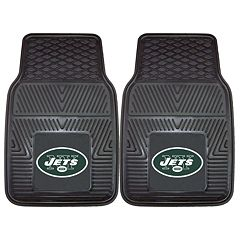 FANMATS 2 pkNew York Jets Car Floor Mats