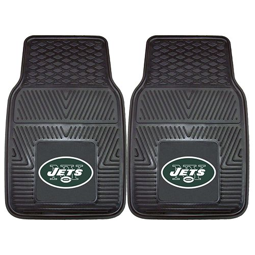FANMATS 2-pk. New York Jets Car Floor Mats