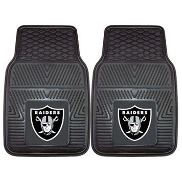 FANMATS 2-pk. Oakland Raiders Car Floor Mats