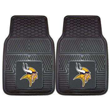FANMATS 2-pk. Minnesota Vikings Car Floor Mats