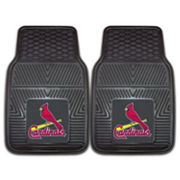 FANMATS 2-pk. St. Louis Cardinals Car Floor Mats