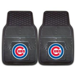 FANMATS 2-pk. Chicago Cubs Car Floor Mats