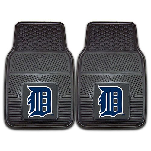 FANMATS 2-pk. Detroit Tigers Car Floor Mats