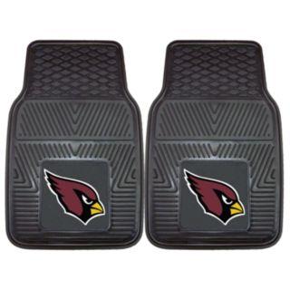 FANMATS 2-pk. Arizona Cardinals Car Floor Mats