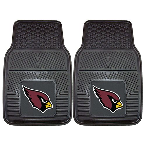 FANMATS 2-pk. Arizona Cardinals Car Floor Mats