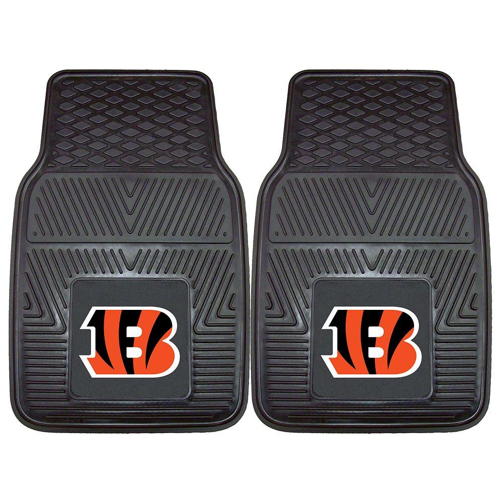 FANMATS 2-pk. Cincinnati Bengals Car Floor Mats
