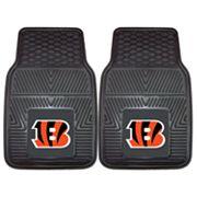 FANMATS 2 pkCincinnati Bengals Car Floor Mats